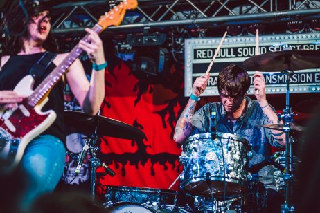 Summer Cannibals performs at Red Bull Sound Select, in Austin, TX, USA, on 5 June, 2015.