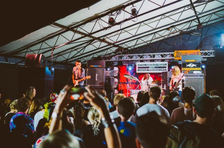 Residual Kid performs at Red Bull Sound Select, in Austin, TX, USA, on 5 June, 2015.